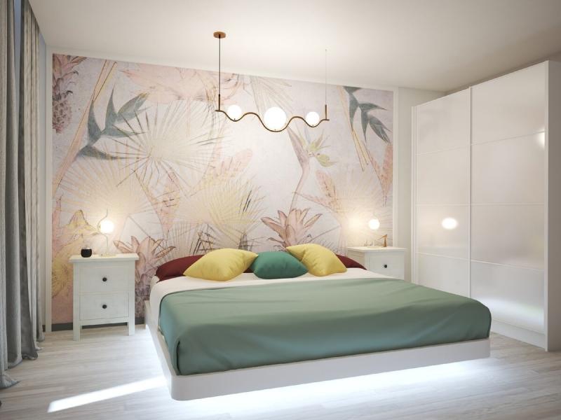 ЦВЕТ в интерьере: идеи сочетания цветов для маленькой спальни.